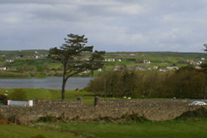 view of estuary from Dun Na Si